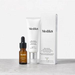 balance moisturiser and glycolic acid activator